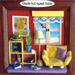 DIY KIT: 3D Picture Frame Life Series - Simple But Sweet Home