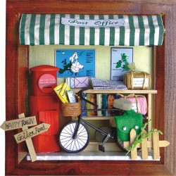 DIY KIT: 3D Picture Frame Life Series - Post Office