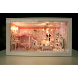 DIY KIT: 3D Frame Box - Pink Dream