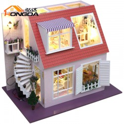DIY KIT: Dollhouse - Elegant Roof Terrace