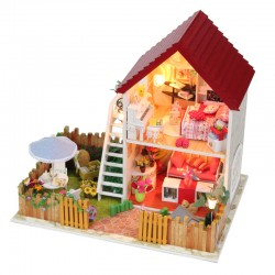 DIY KIT: Dollhouse - Star Dream House with Garden