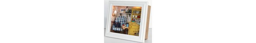 3D Frame Box  w/Light