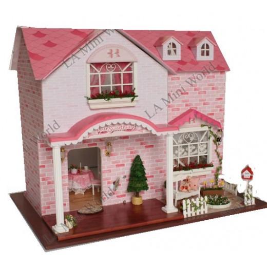 "DIY KIT: LED My Luxury Villa ""Pink Sweetheart"""