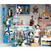 "DIY KIT: WOODEN DREAM DOLLHOUSE ""Romantic Aegean Sea"""