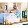DIY KIT: Dollhouse Miniature - Romantic Santorini Island