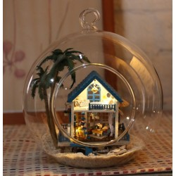 DIY KIT : Mini Glass Ball - Romantic Aegean Sea