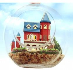 DIY KIT : Mini Glass Ball - Alice Dream Castle