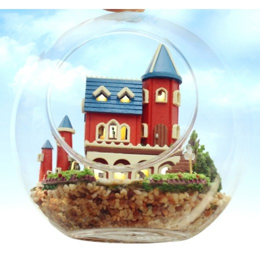 DIY KIT : Mini Glass Ball - Alice Dream Castle