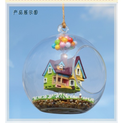 DIY KIT : Mini Glass Ball - Flying Cabin Destiny