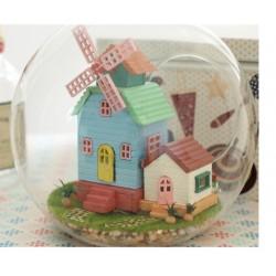 DIY KIT : Mini Glass Ball - Wind Fantasy