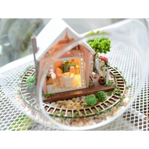 DIY KIT : Mini Glass Ball - Pandora Magic Garden