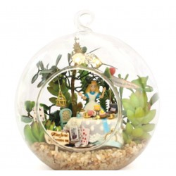 DIY KIT : Mini Glass Ball - Alice Forest afternoon Tea time