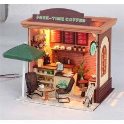DIY KIT: Dollhouse Store- Free-time Coffer Shop