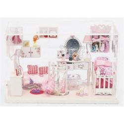 DIY KIT: Dollhouse Crystall Room - Priness Room