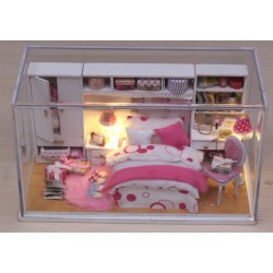 DIY KIT: Dollhouse Crystall Room - Perfect Wedding