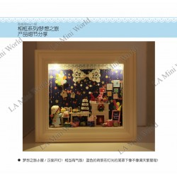 DIY KIT: 3D WOODEN PHOTO FRAME SERIES ~ Tour of Dream