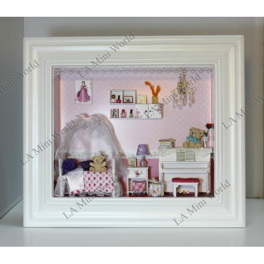 DIY KIT: 3D WOODEN PHOTO FRAME SERIES ~ Tour of Fly Baby Room