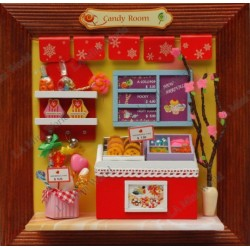 DIY KIT: 3D PICTURE FRAME CANDY ROOM
