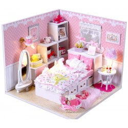 DIY KIT: Dollhouse Crystall Room - Angel's Dream
