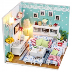DIY KIT: Dollhouse Crystall Room - Butterly's Love