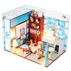 DIY KIT: Dollhouse Crystall Room - Doraemon
