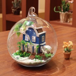 DIY KIT: Mini Glass Ball-Mini Aegean sea