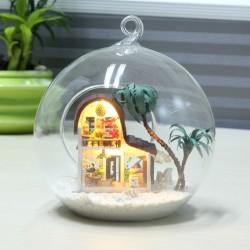 DIY KIT: Mini Glass Ball - Coffee Shop