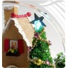 DIY KIT: Mini Glass Ball - White Christmas House
