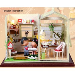 DIY KIT: Dollhouse Crystall Room - Cozy Kitchen