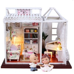 DIY KIT: Dollhouse Crystall Room - Weekend House