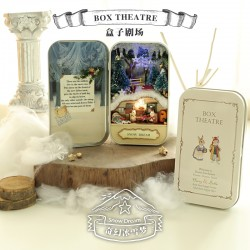 DIY KIT : Box Theater,  Snow Dream