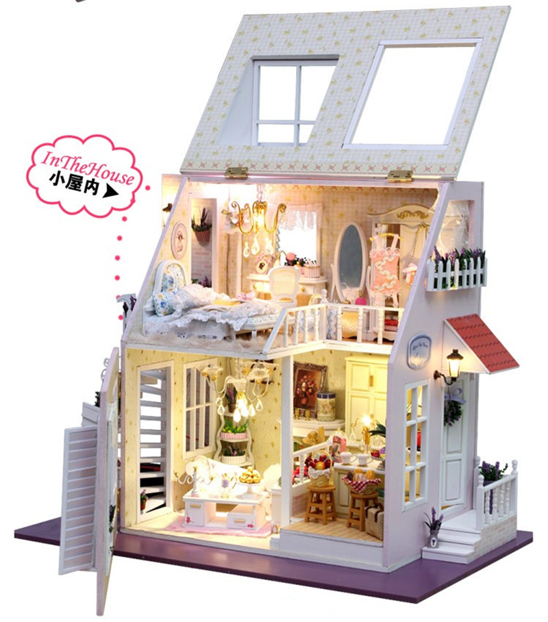 Dollhouse Miniature DIY Kit- #13822, Two Stories Of