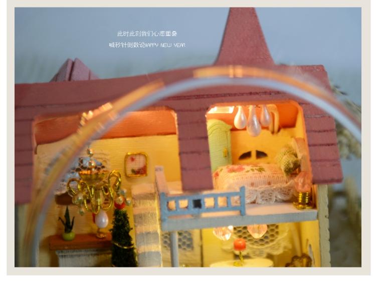 B-007 Wind Fantasy 50/% off ~DIY  Miniature Dollhouse in Mini Glass Ball,